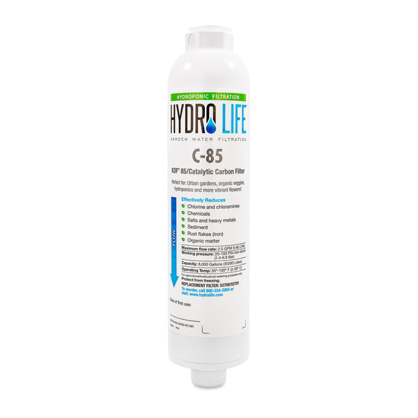 hydrolife c-85 kdf 85 catalytic carbon water filter replacement cartridge rocky mountain bioag