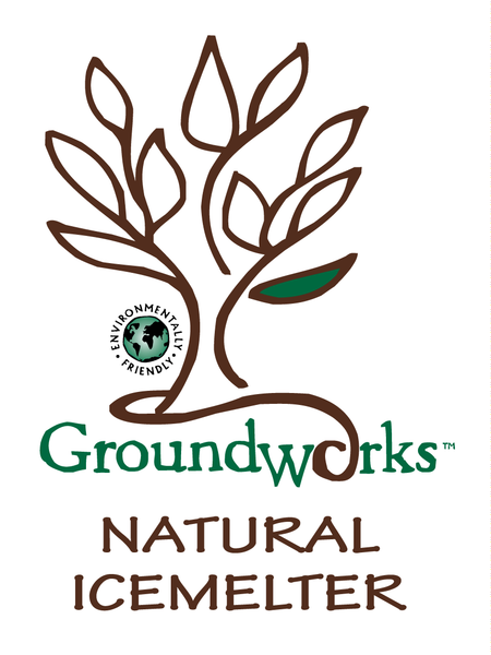 groundworks natural pet safe eco friendly ice melt logo - rocky mountain bioag