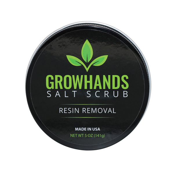 grow hands salt scrub resin remover five ounce sold at rocky mountain bioag