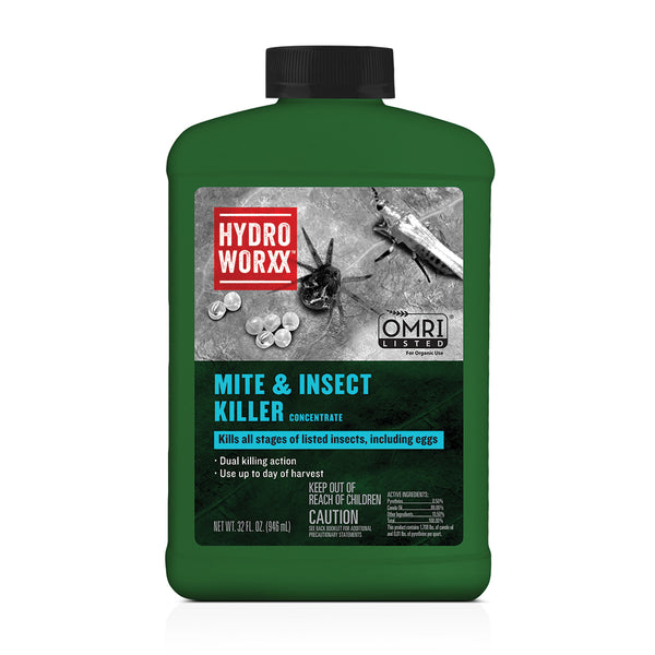 mite and insect killer hydroworxx concentrate 32 ounce rocky mountain bioag organic omri approved epa registered