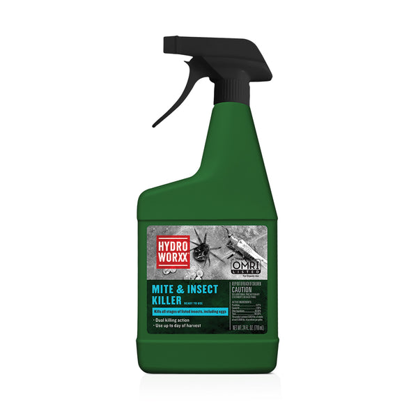 mite and insect killer hydroworxx ready to use 24 ounce rocky mountain bioag organic omri approved epa registered