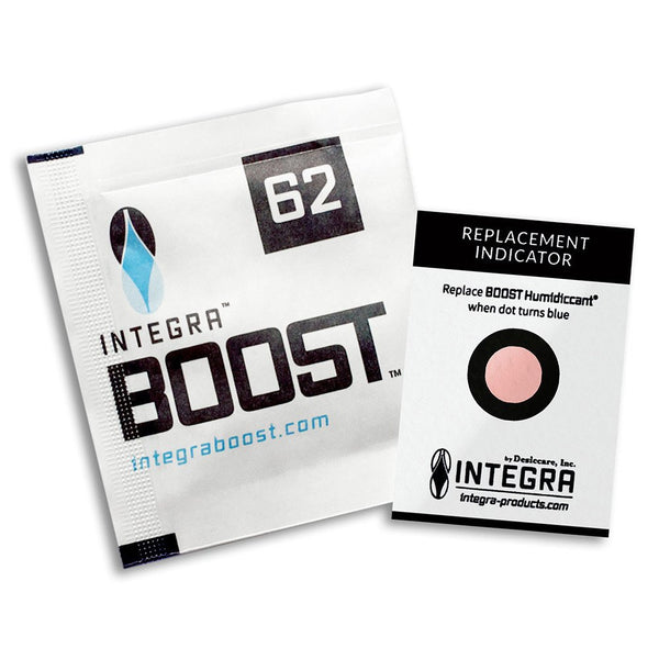 Integra Boost 2-Way Humidity Regulator Pack 8g, 62% - Rocky Mountain Bio-Ag