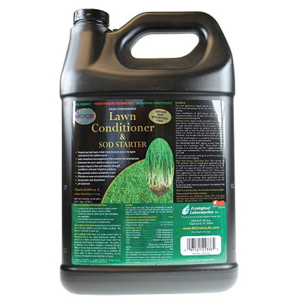 1 Gallon, 128 Ounce Microbe Life Hydroponics Lawn Conditioner and Sod Starter Refill - Rocky Mountain Bio-Ag