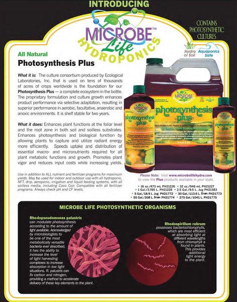 Introducing Photosynthesis Plus - Rocky Mountain Bio-Ag