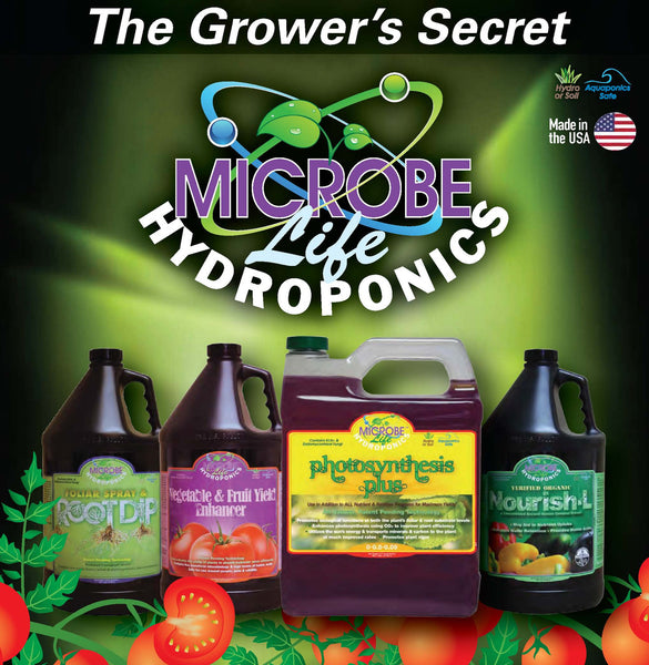 The Grower's Secret Microbe Life Hydroponics - Rocky Mountain Bio-Ag