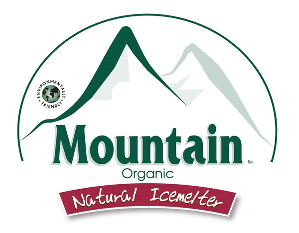 mountain organic natural pet safe eco friendly ice melt logo - rocky mountain bioag