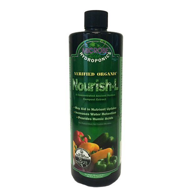 1 Pint, 16 Ounce Microbe Life Nourish-L Concentrated Compost Extract Humic Acid - Rocky Mountain Bio-Ag