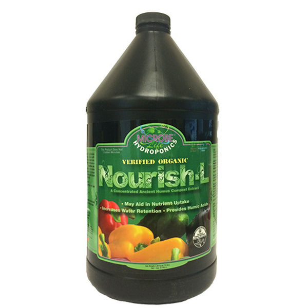 1 Gallon, 128 Ounce Microbe Life Nourish-L Concentrated Compost Extract Humic Acid - Rocky Mountain Bio-Ag