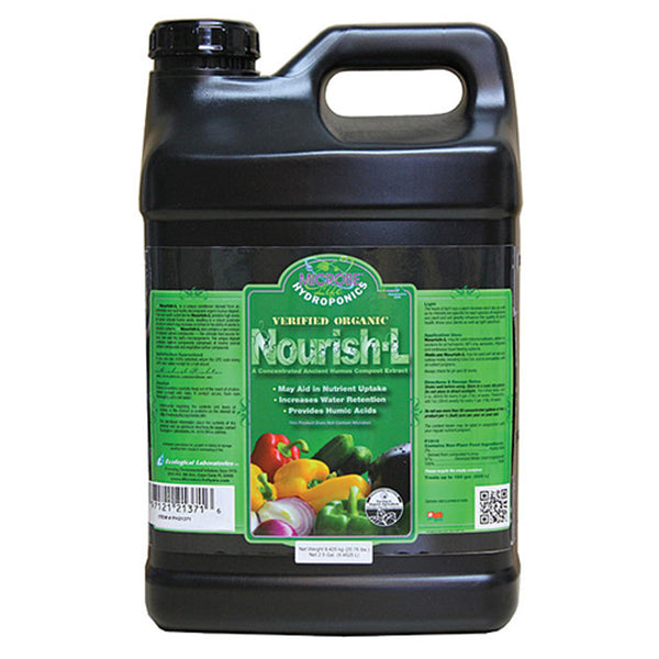 2.5 Gallon, 9.4625 Liter Microbe Life Nourish-L Concentrated Compost Extract Humic Acid - Rocky Mountain Bio-Ag