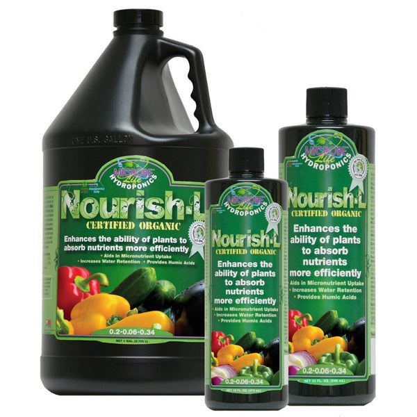 Microbe Life Nourish-L Concentrated Compost Extract Humic Acid - Rocky Mountain Bio-Ag