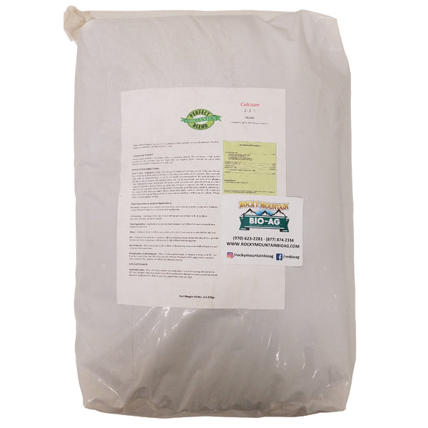 Perfect Blend Organic 2-2-1 15% Calcium Fertilizer 50 Pound Bag - Rocky Mountain Bio-Ag
