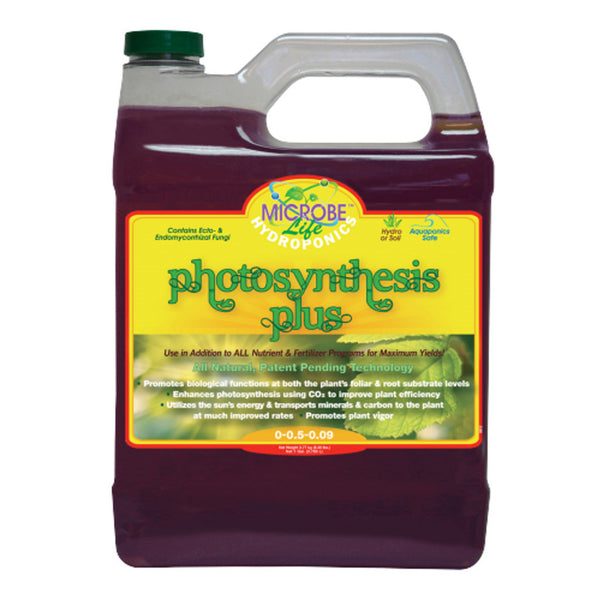 1 Gallon, 128 Ounce Microbe Life Hydroponics Photosynthesis Plus Microbial Inoculant - Rocky Mountain Bio-Ag