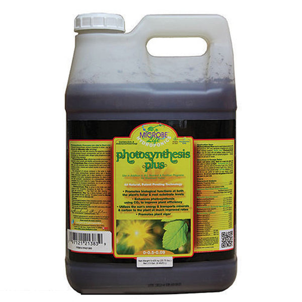 2.5 Gallon, 9.4625 Liter Microbe Life Hydroponics Photosynthesis Plus Microbial Inoculant - Rocky Mountain Bio-Ag