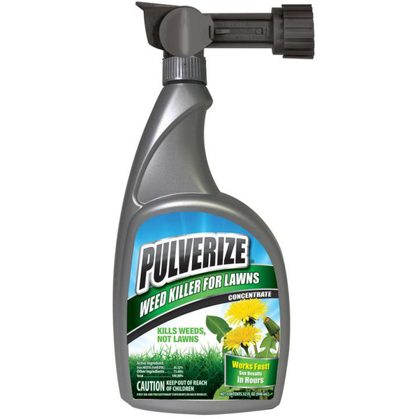 pulverize selective weed killer for turf and lawns 32 ounce hose end sprayer rocky mountain bioag