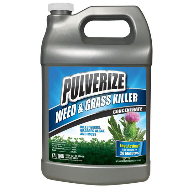 pulverize non-selective weed and grass killer 1 gallon concentrate rocky mountain bioag