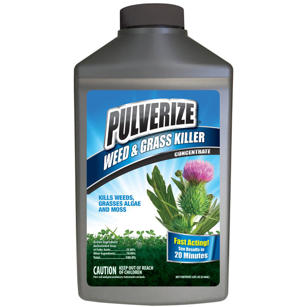 pulverize non-selective weed and grass killer 32 ounce concentrate rocky mountain bioag