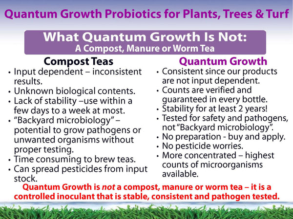 Quantum Growth Versus Compost Tea What Quantum Growth is Not - Rocky Mountain Bio-Ag