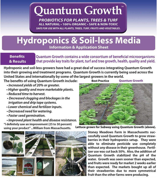 Quantum Growth Hydroponics - Rocky Mountain Bio-Ag