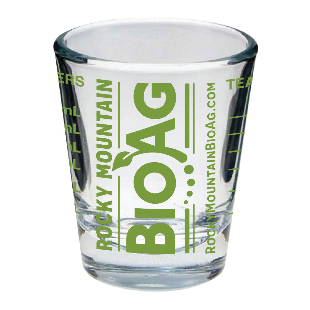 Rocky Mountain BioAg Measuring Shot Glass