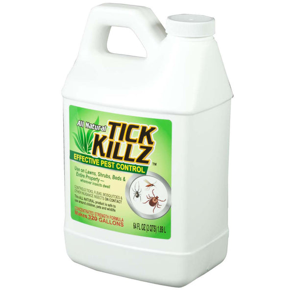 1/2 Gallon, 64 Ounce Tick Killz All Natural Effective Pest Control Concentrate - Rocky Mountain Bio-Ag