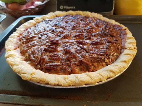 Hot Honey Pecan Pie