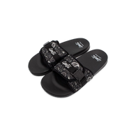 Paisley Slides - Black