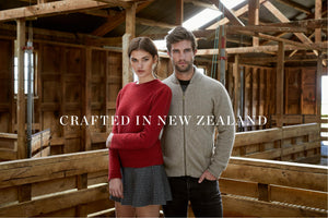 Exquisitely warm essential winter knitwear made in New Zealand. 100% natural fibres merino wool, possum fur, mulberry silk.