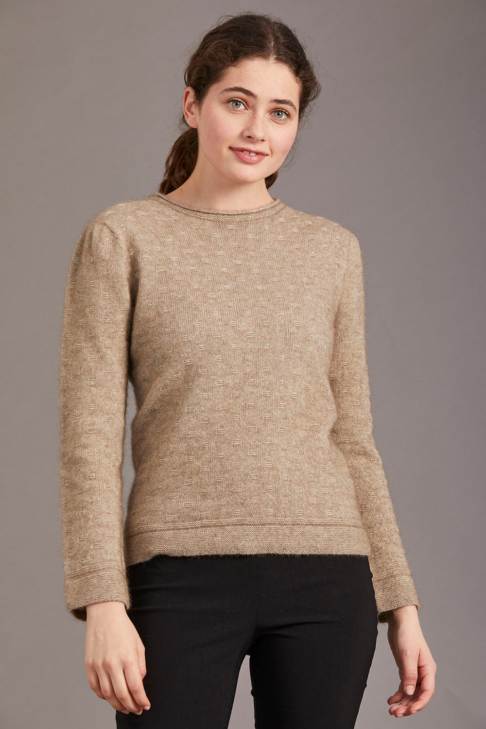 Possum Merino Float Stitch Sweater