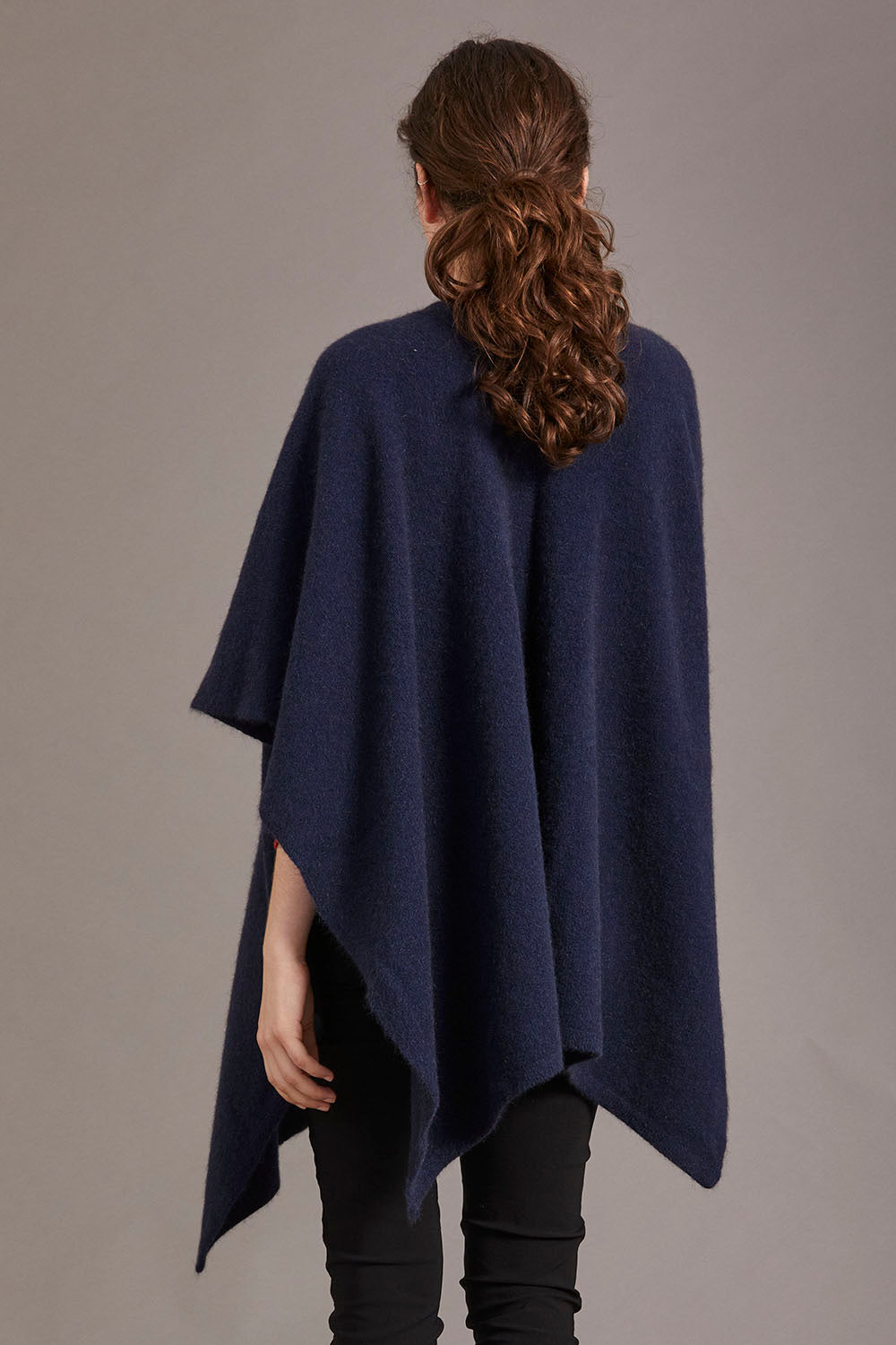 Possum Merino Split Front Cape