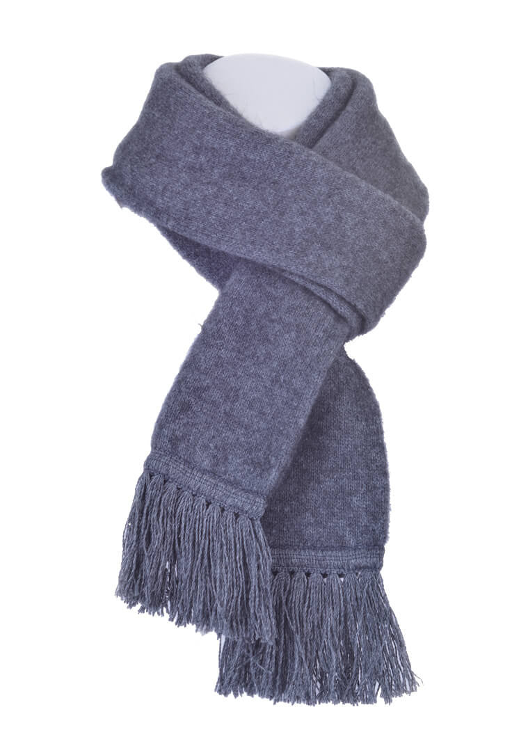 Possum Merino Plain Tubular Scarf