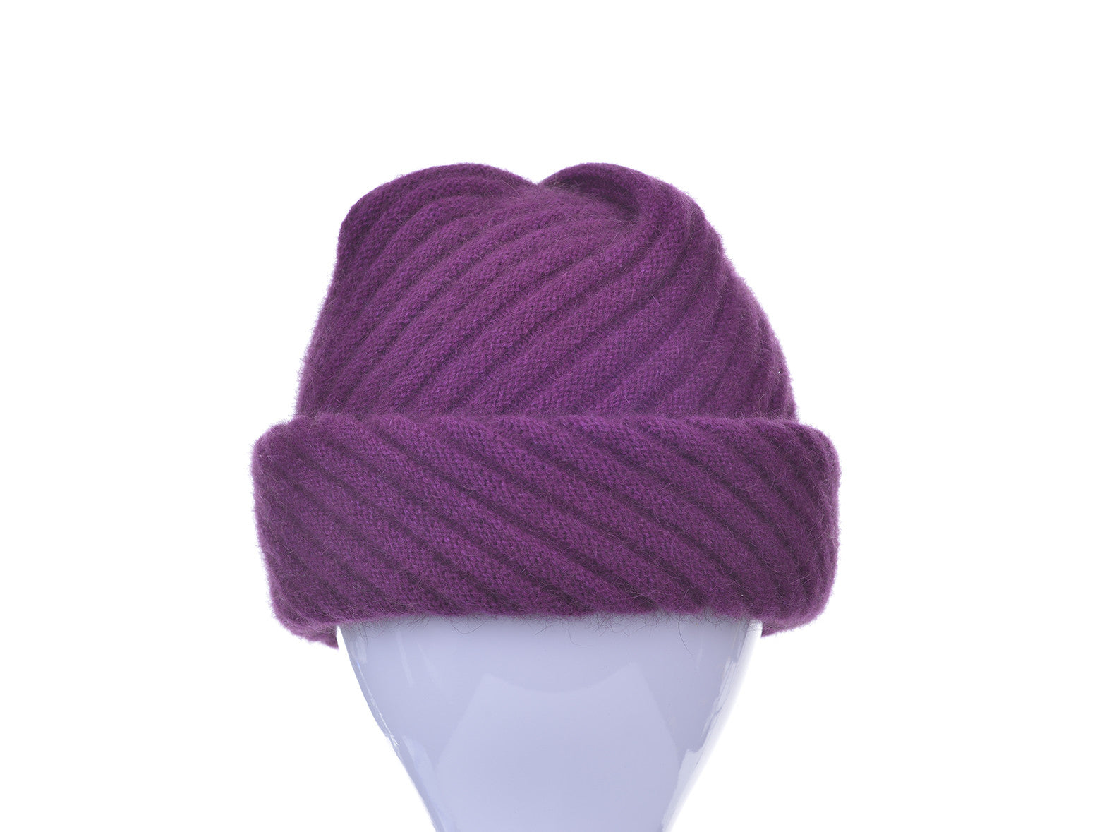 687dde2e634 Possum Merino Rib Hat with Pleated Top - McDonald Textiles