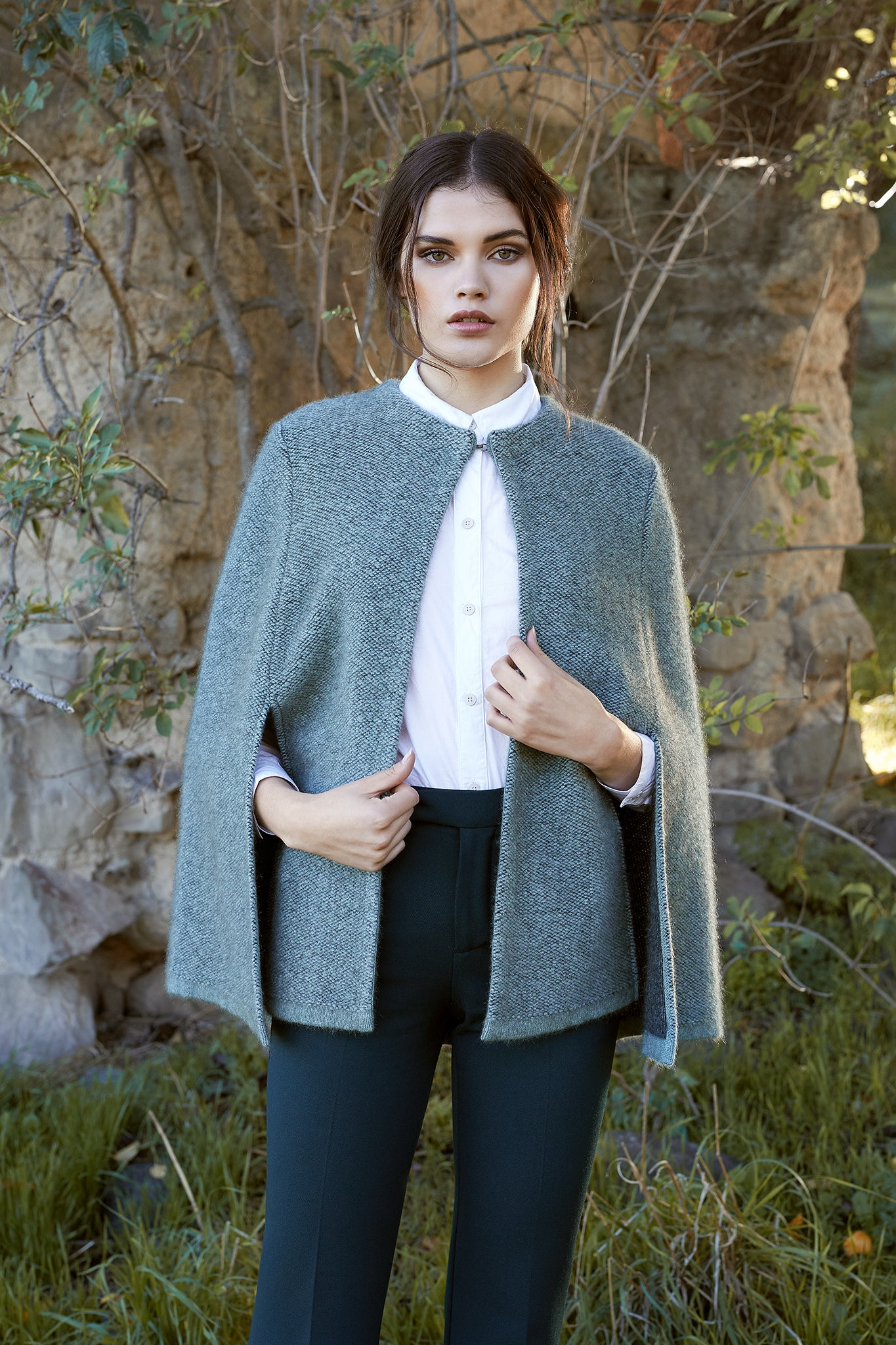 Possum Merino Textured Cape