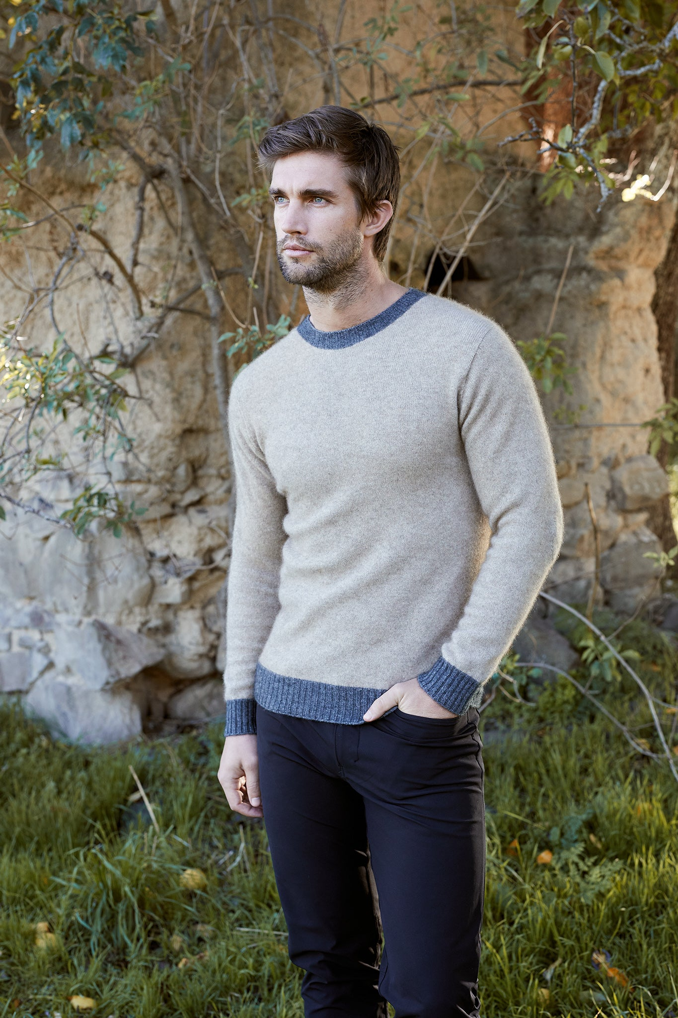 Possum Merino Patch Sweater