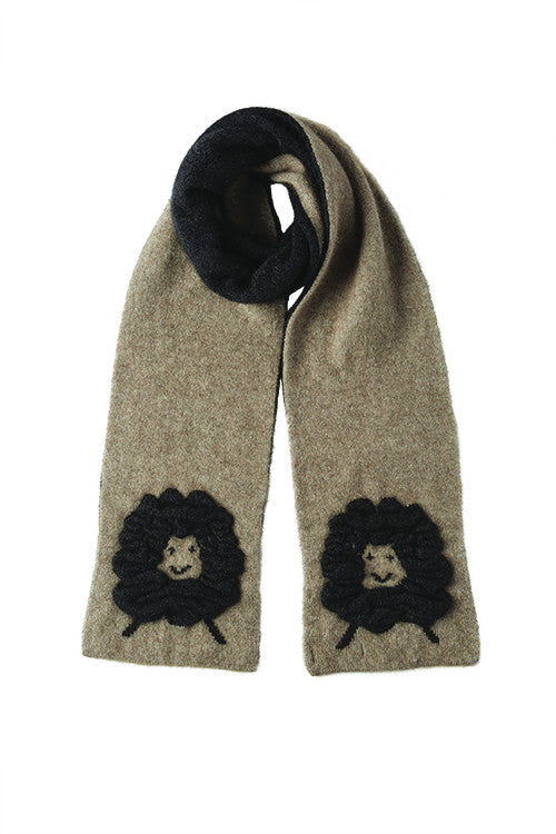 Possum Merino Woolly Sheep Scarf