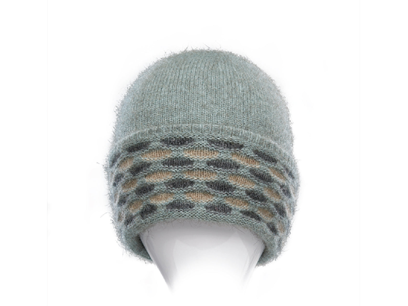 Possum Merino Wave Trim Hat