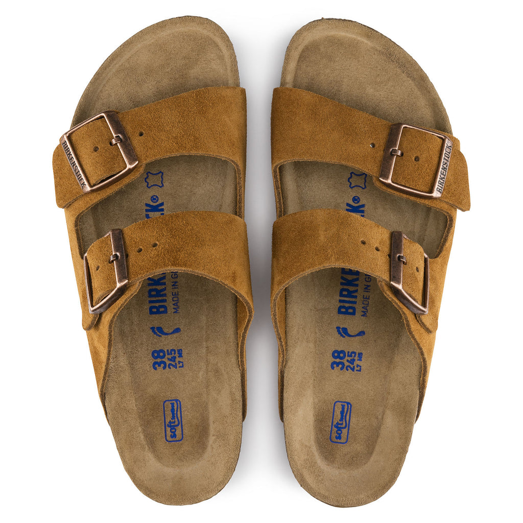 Arizona Soft Footbed : Mink Suede