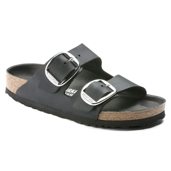Arizona Classic Footbed : Big Buckle Black (Women)