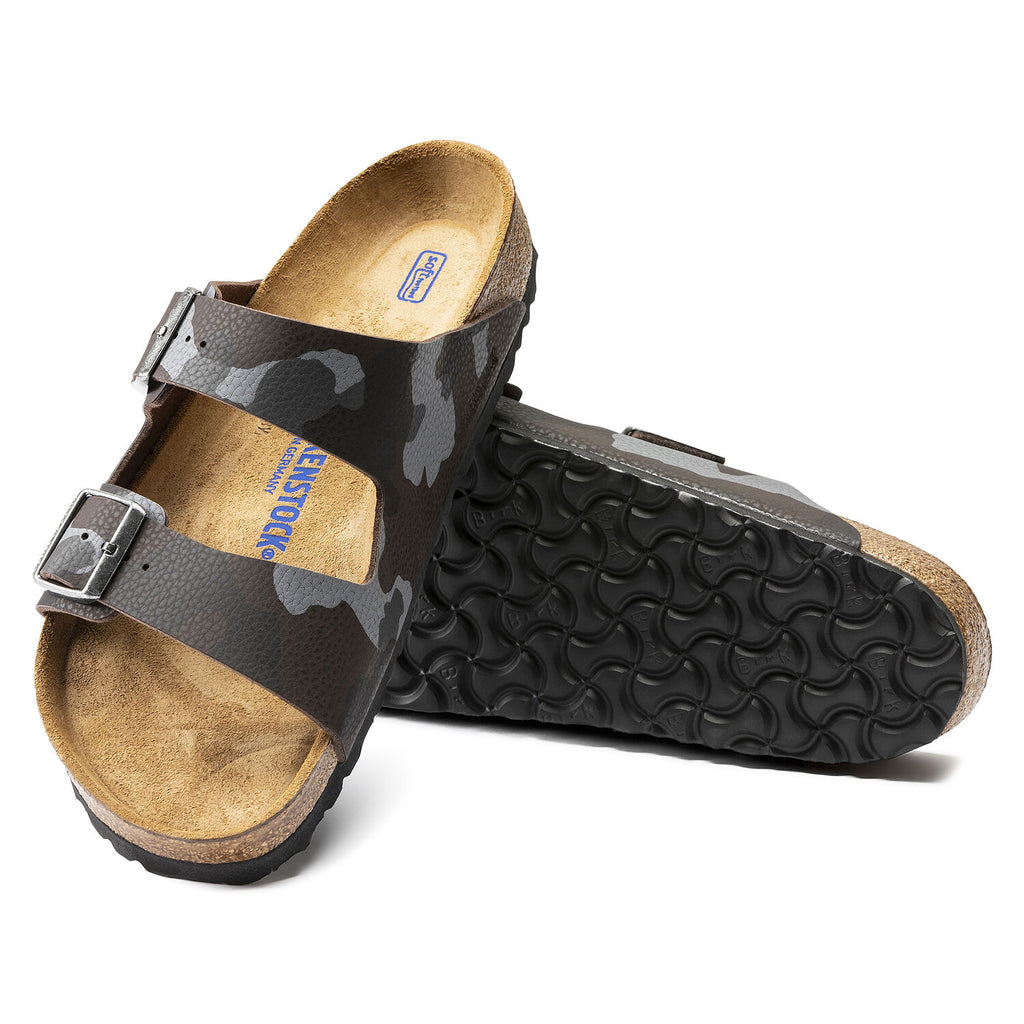 Arizona Soft Footbed : Desert Soil Camo Brown