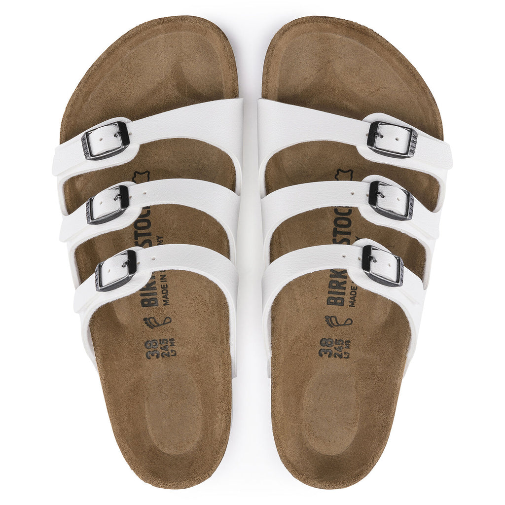 Florida Classic Footbed : White