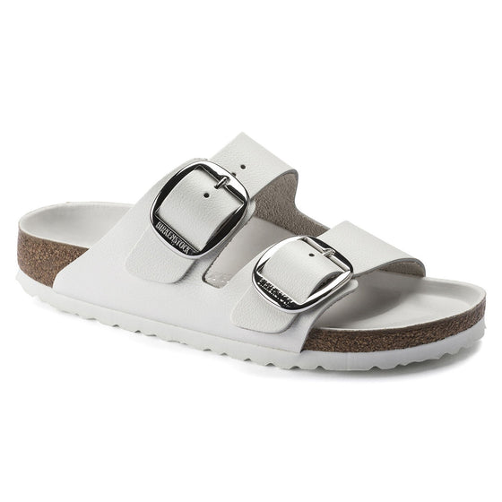 Arizona Classic Footbed : Big Buckle White