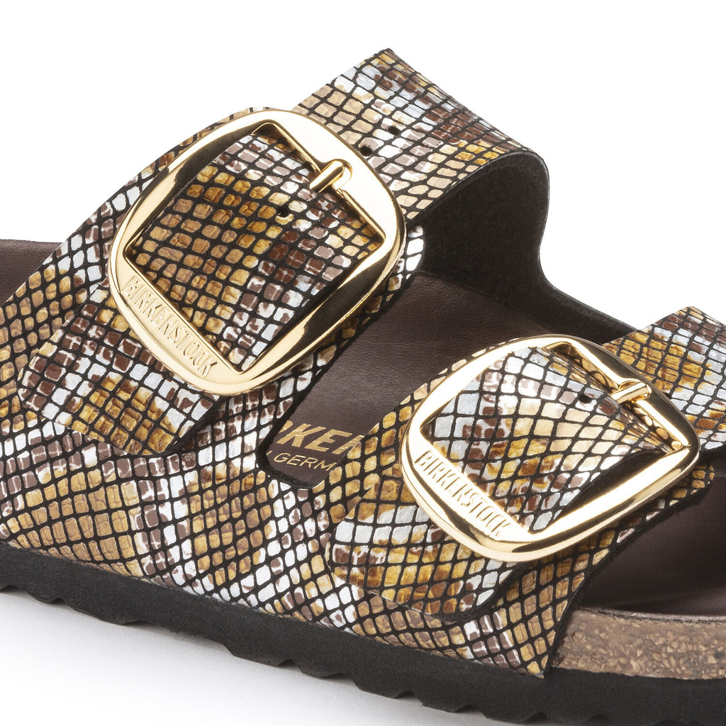 Arizona Classic Footbed : Big Buckle Python