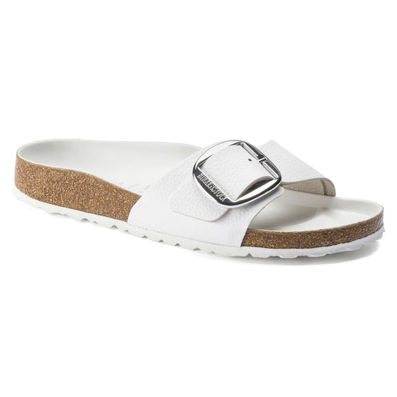 Madrid Big Buckle : White
