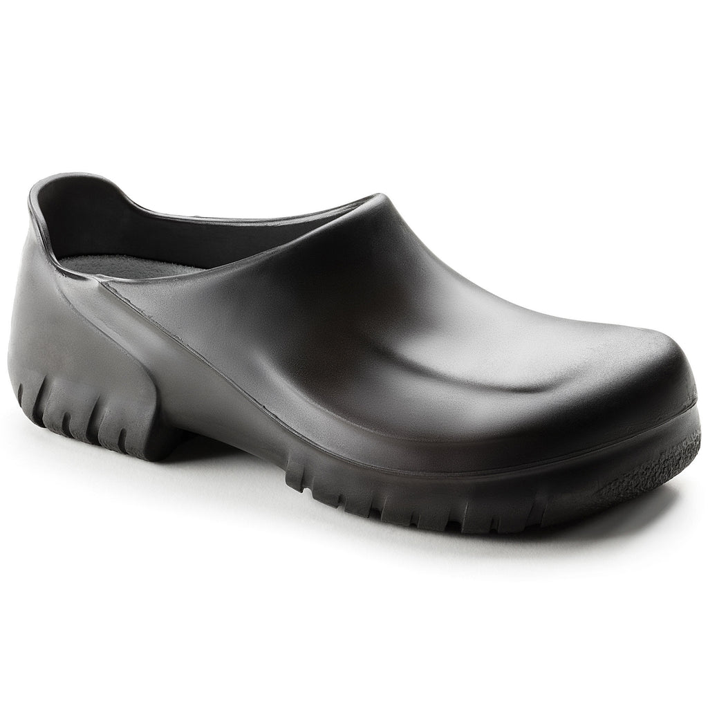 A640 Clog : Black Steel Toe