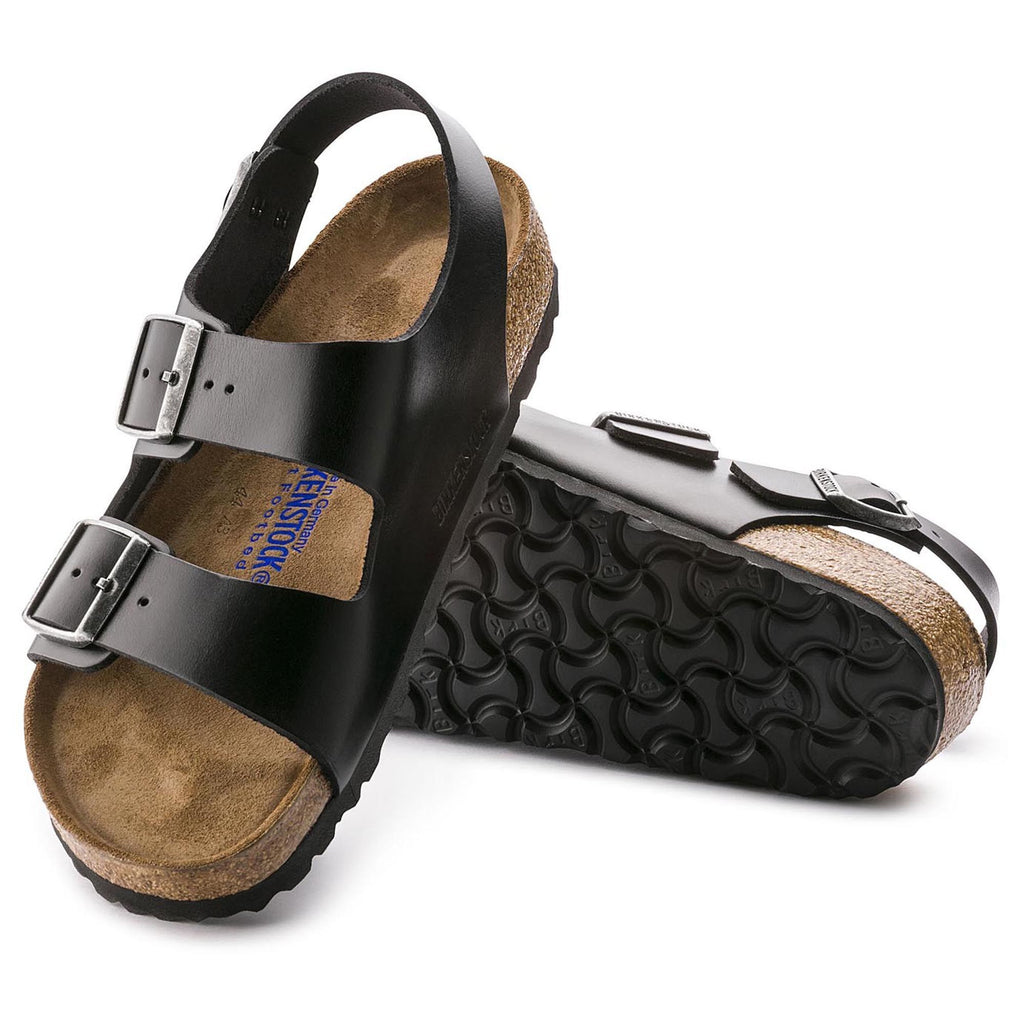 Milano Soft Footbed : Black Amalfi