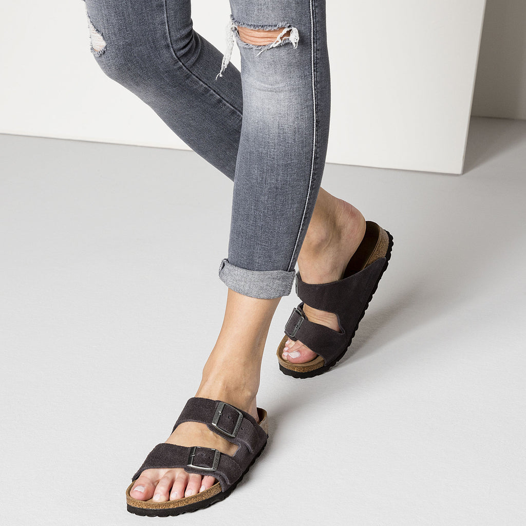 Arizona Soft Footbed : Velvet Gray