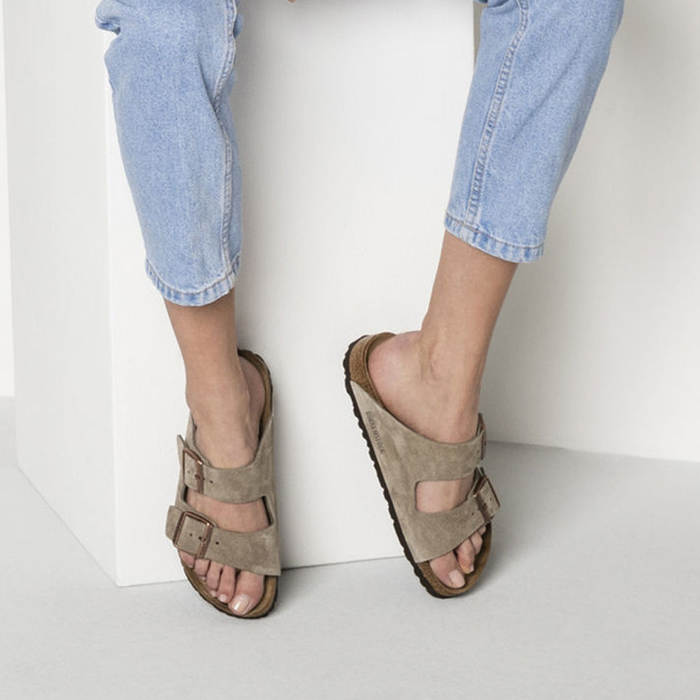 Arizona Soft Footbed : Taupe - Complete