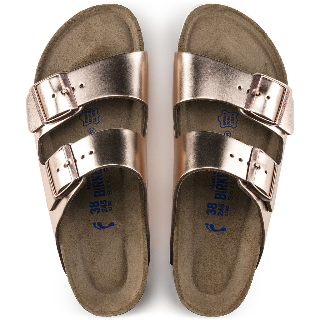 Arizona Soft Footbed : Metallic Copper