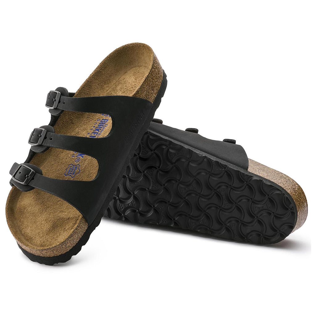 Florida Soft Footbed : Black Oiled