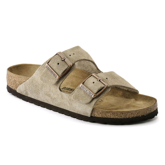 Arizona Classic Footbed : Taupe Suede