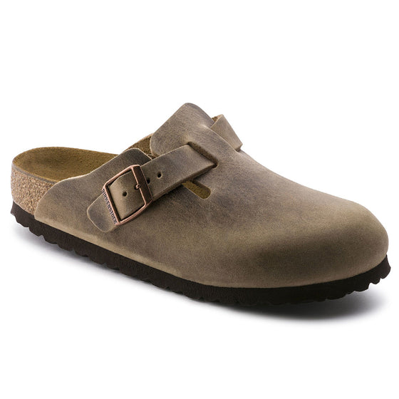 Boston Classic Footbed : Tobacco